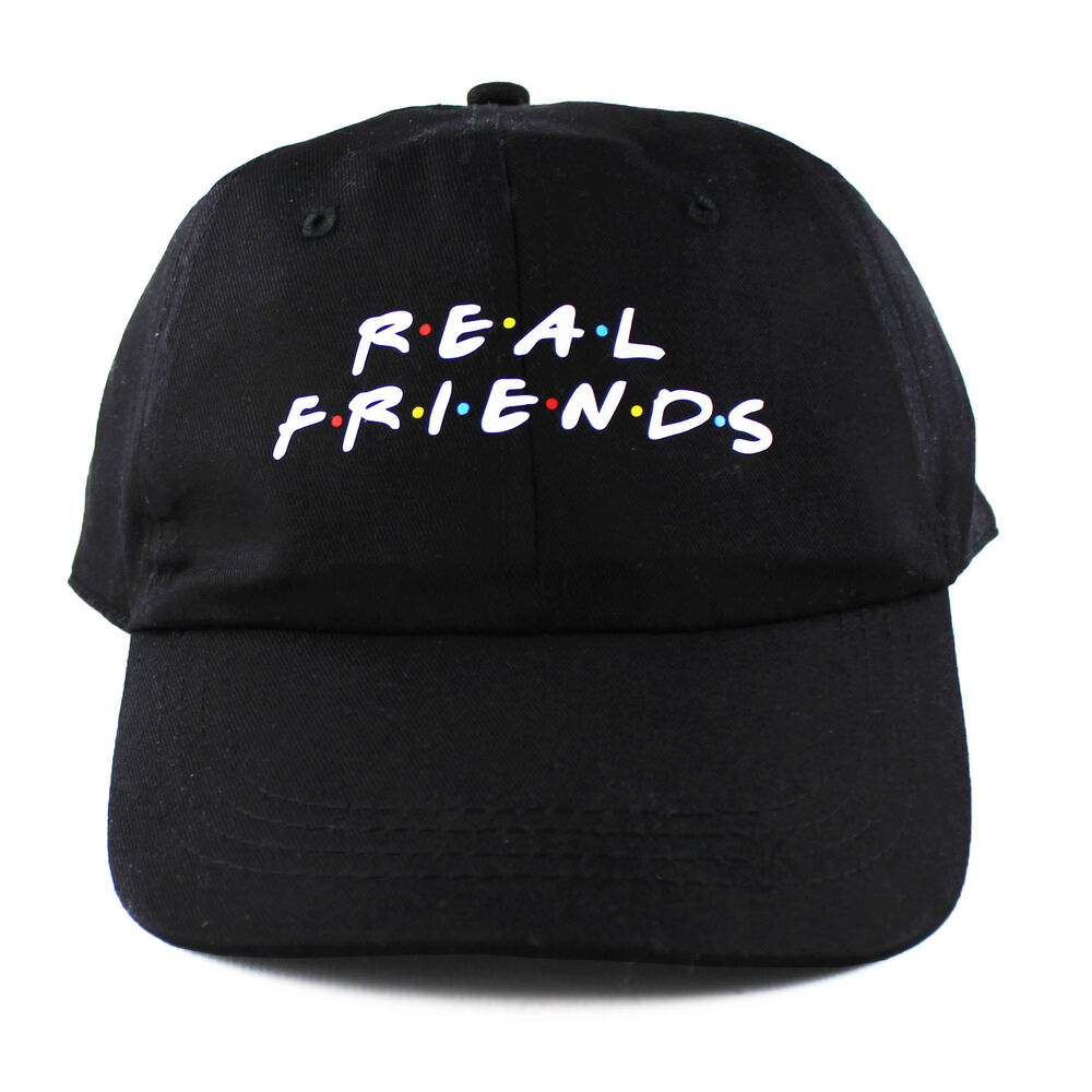 Details about Real Friends 6 panel cap strapback polo dad hat 6 sad boys  kanye yeezus NEW 0affb033bea