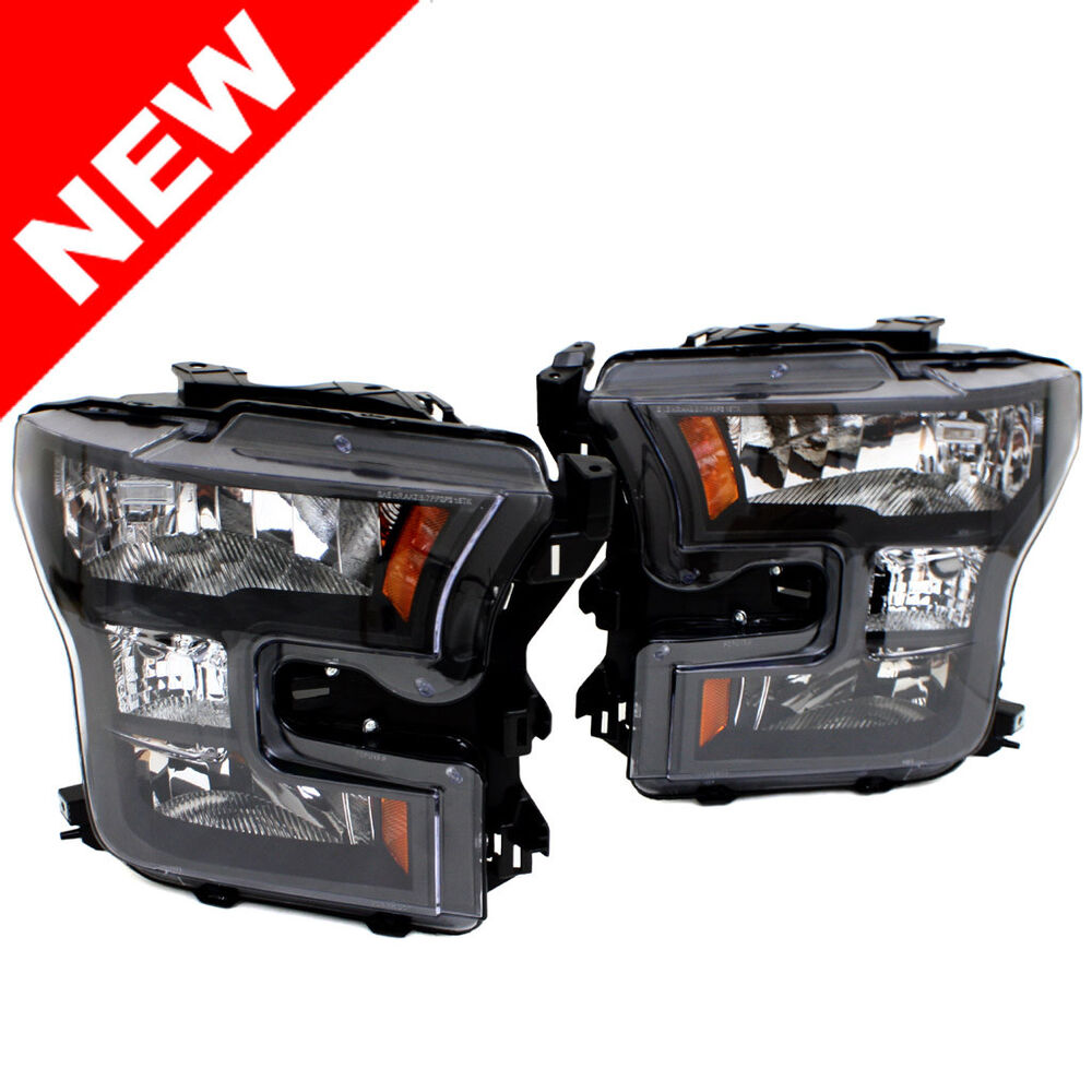 2015 ford f 150 pickup black special edition headlight oe. Black Bedroom Furniture Sets. Home Design Ideas