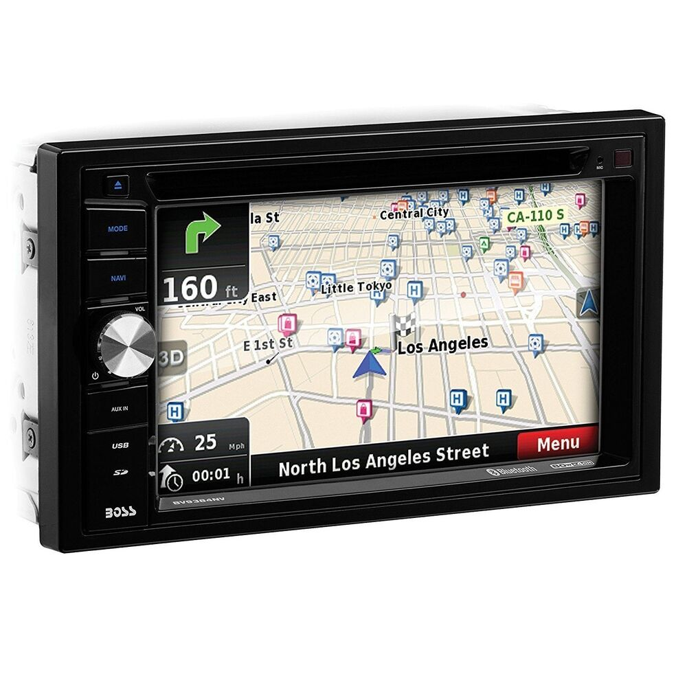 Boss Bv9538b Double Din Bluetooth Dvd Car Stereo Receiver: BOSS AUDIO BV9384NV Double-DIN 6.2 Inch Touchscreen DVD