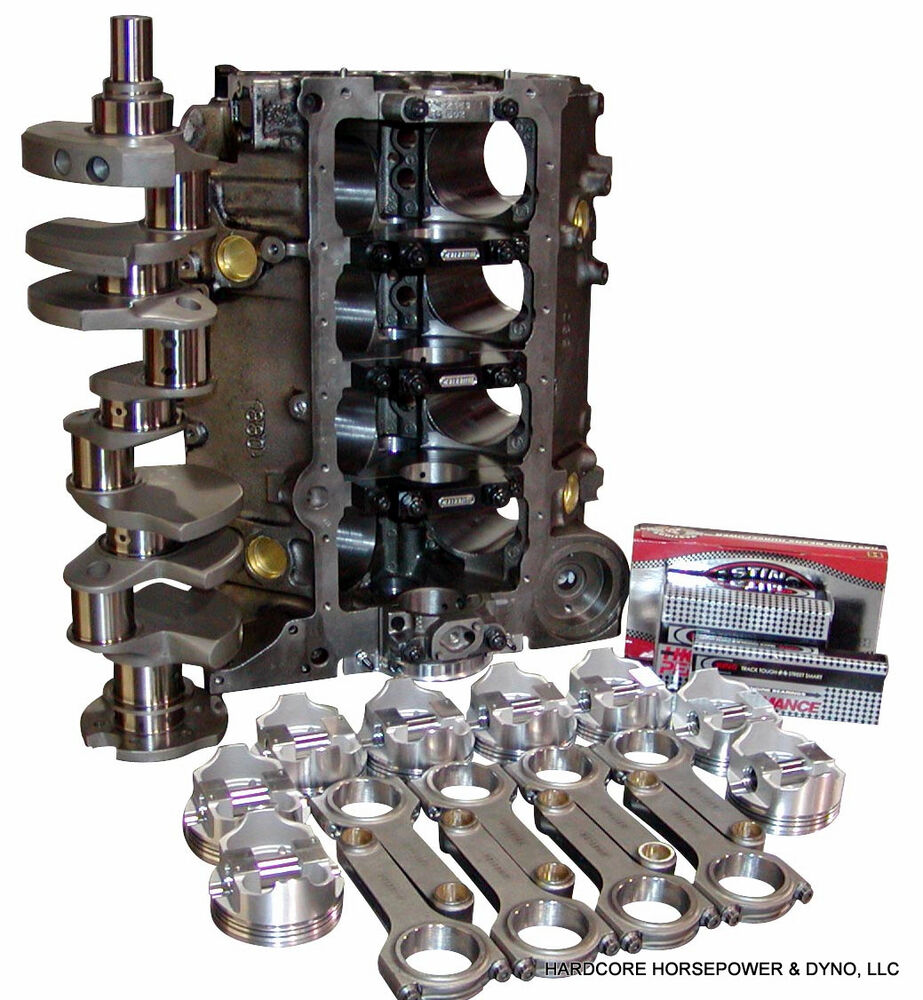 427ci Small Block Chevy Parts Kit; DIY Blower Short Block