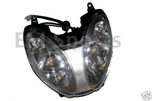 Scooter Headlight Assembly : Gy scooter moped bike headlight assembly for cc
