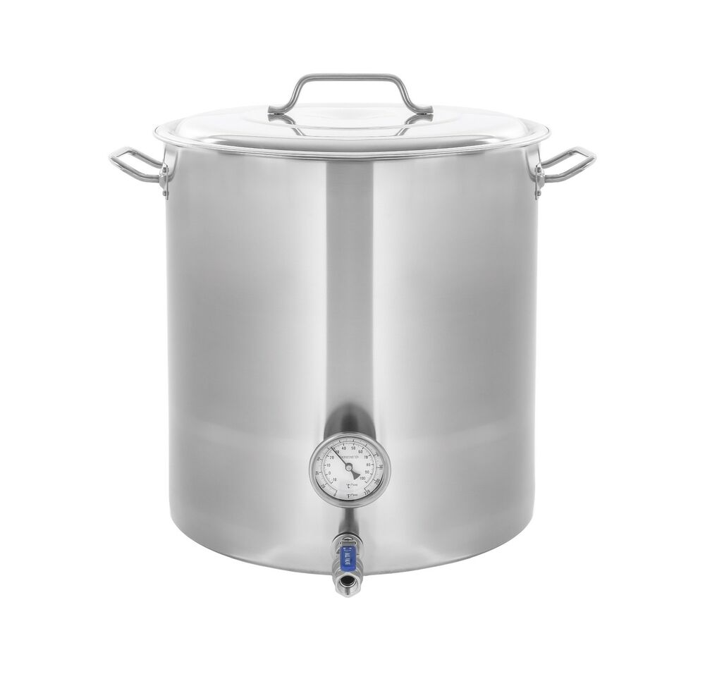 New Concord Stainless Steel Home Brew Kettle Brewing Stock