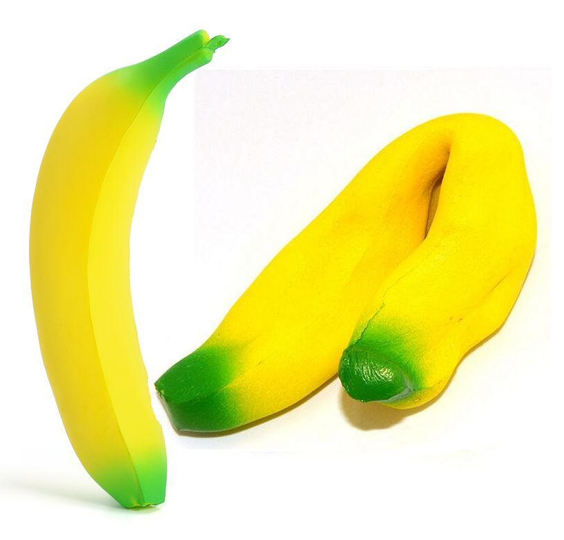 Super Squishy Banana Toy : 18cm New Banana Squishy Super Slow Rising Simulation Fruit Bread Kid Toy Gift F eBay