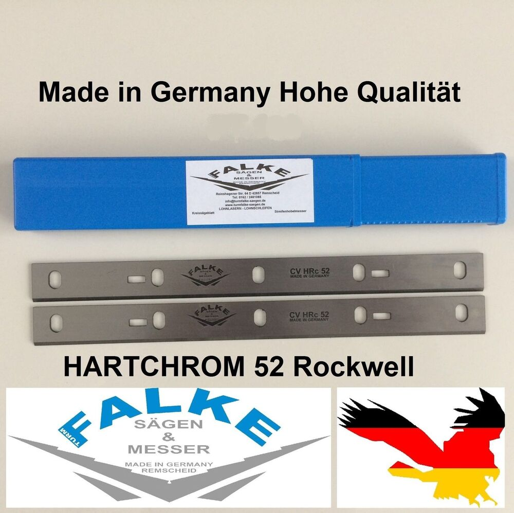 2 st ck scheppach hms 1070 abricht dickenhobel 254mm hobelmesser ebay. Black Bedroom Furniture Sets. Home Design Ideas
