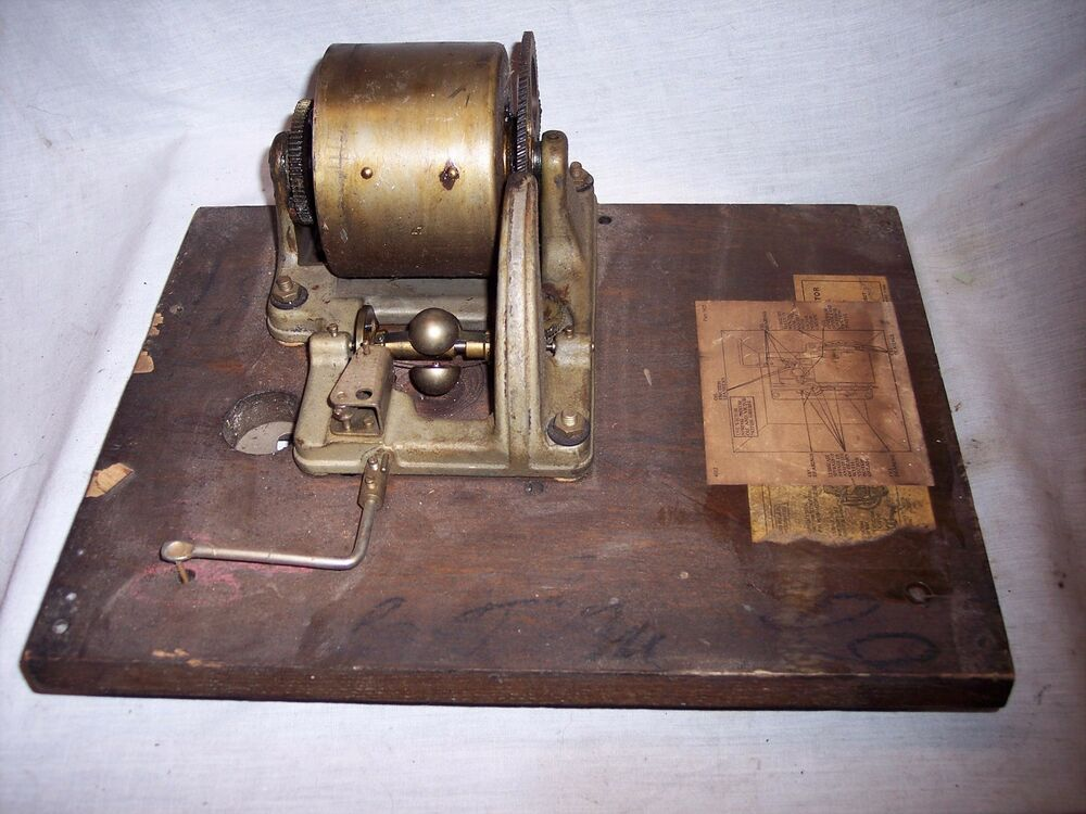 Victor Victrola Disc Phonograph Motor For Parts Or