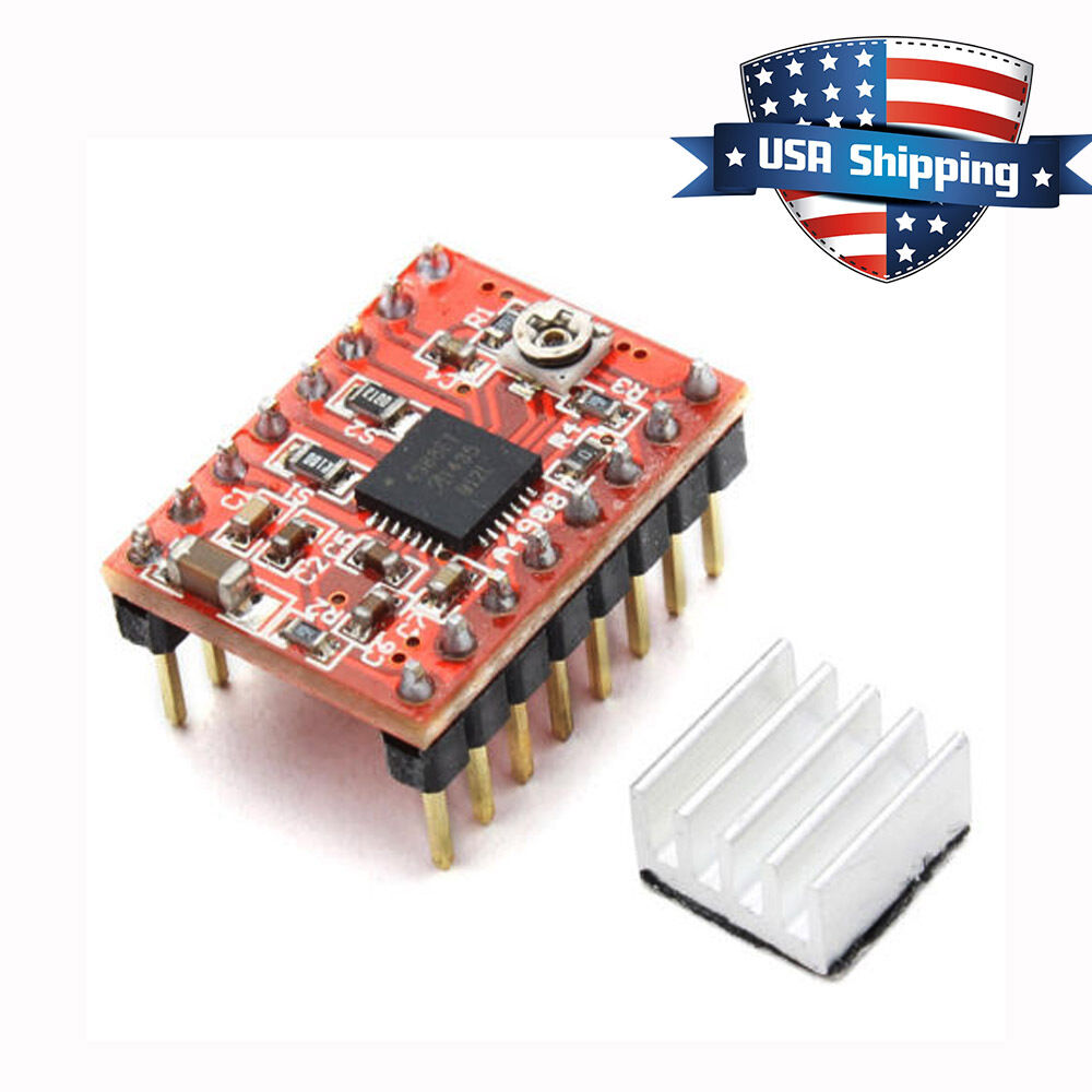 5pcs A4988 Stepper Motor Driver Module For Reprap 3d