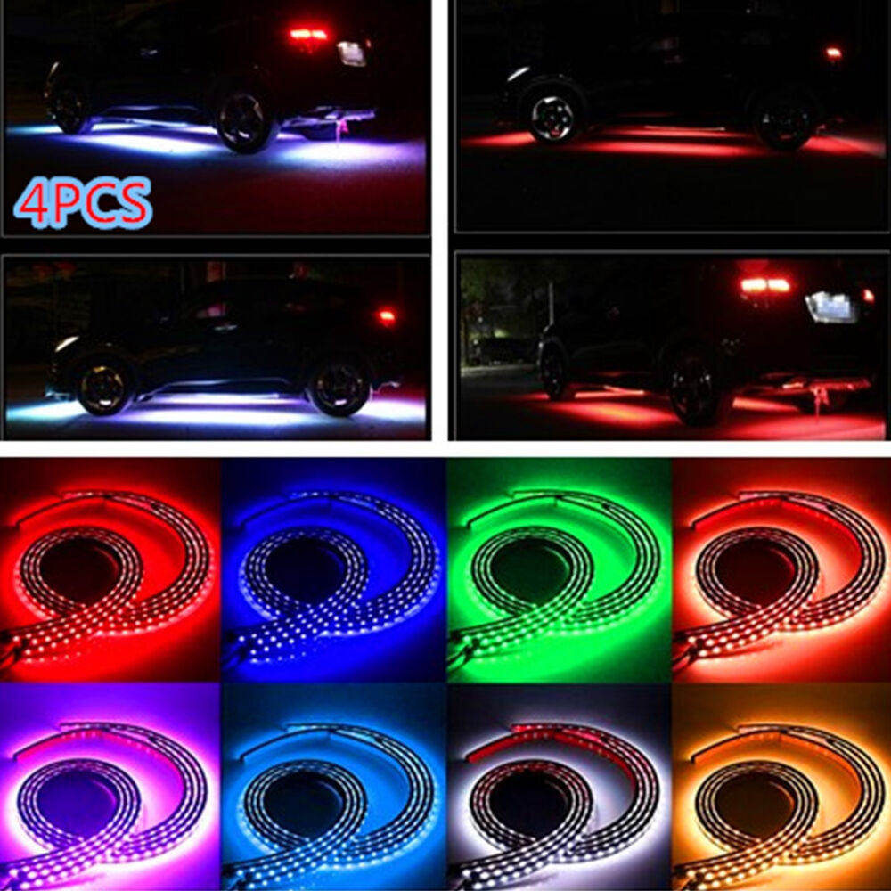 Car Under Glow Underbody 8 Colors Rgb Flexible Led Strip