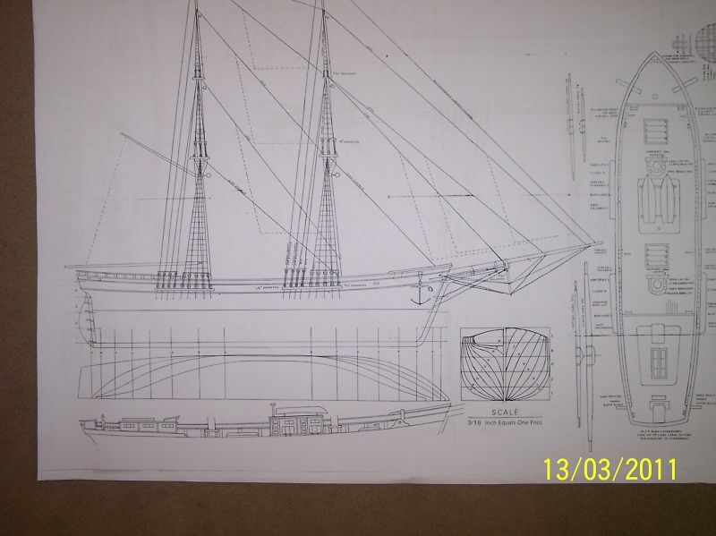 BRIG ship plans model plans | eBay