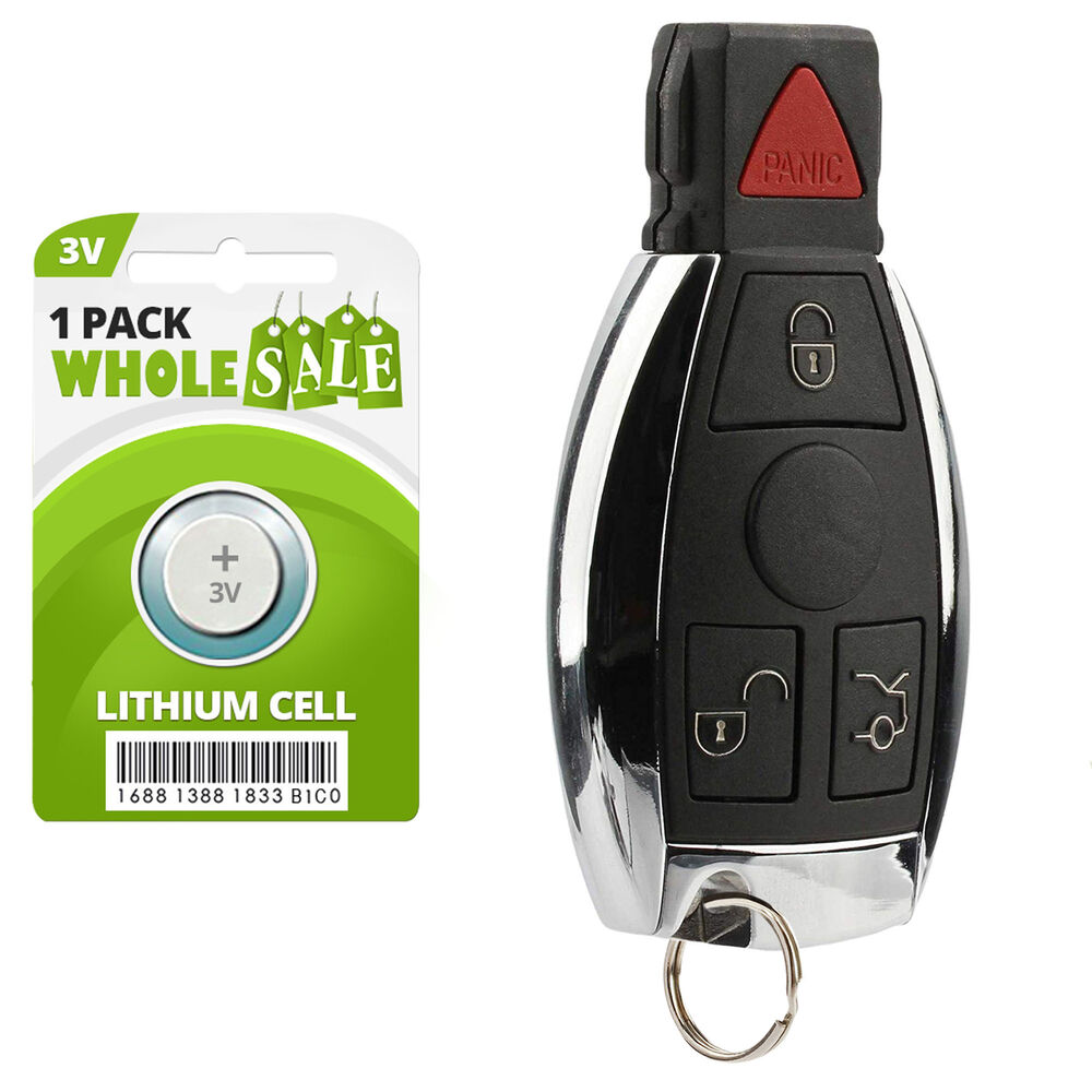 Replacement for 2000 2001 2002 2003 mercedes benz cl500 for Mercedes benz keys replacement cost