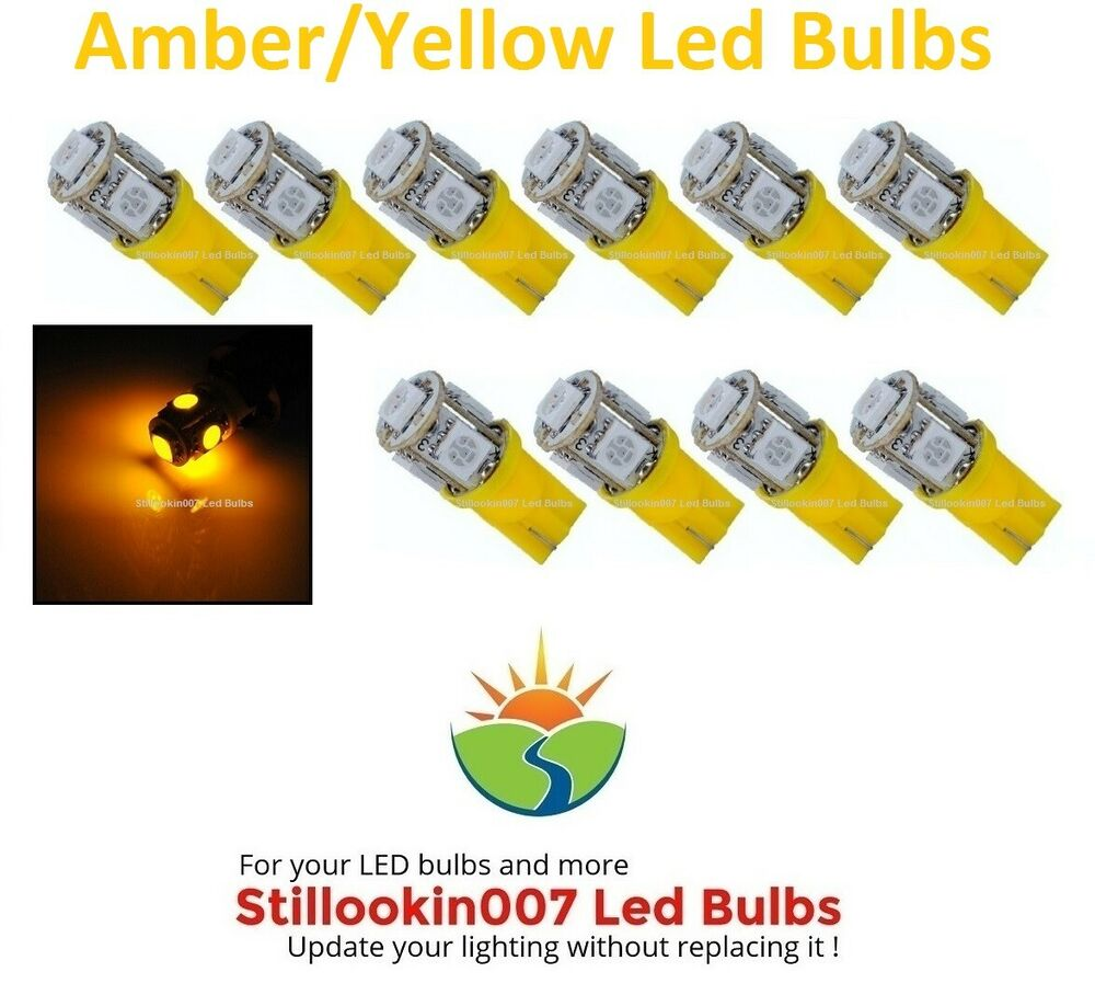 Landscape Lighting Led Conversion : Landscape light led conversion amber yellow s per bulb