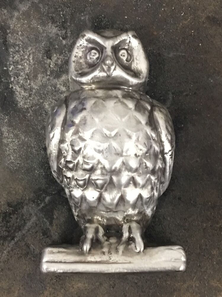 Mk Barz And Bullion 3 Tr Oz Owl 999 Fine Silver Hand