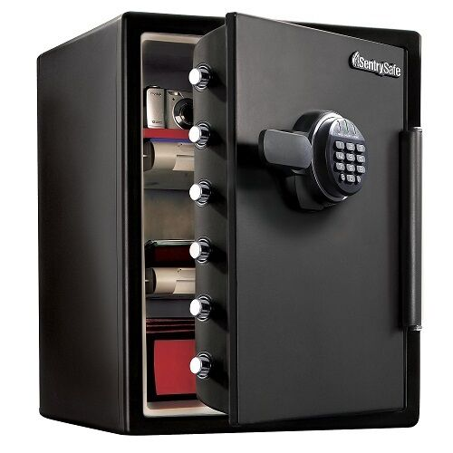 Large fire safe electronic lock box security steel for How to buy a home safe