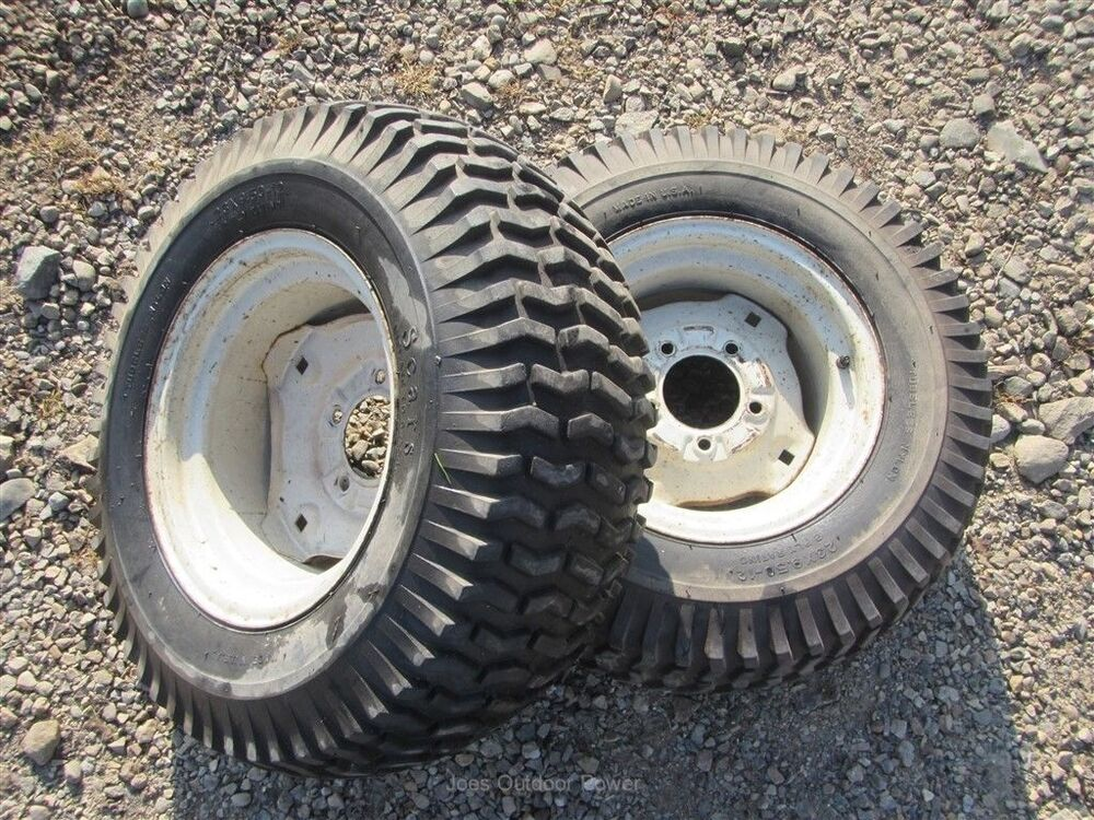 15 3 Tractor Wheels : Sears suburban ss tractor rear tires