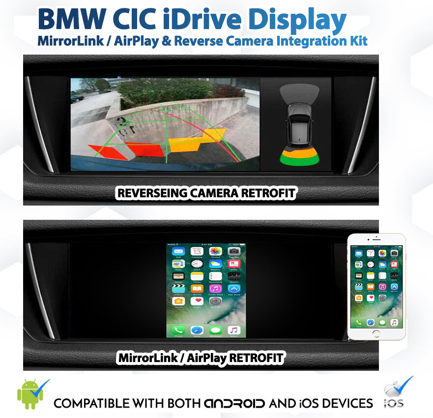 bmw cic idrive e90 e92 mirrorlink ios airplay reverse. Black Bedroom Furniture Sets. Home Design Ideas