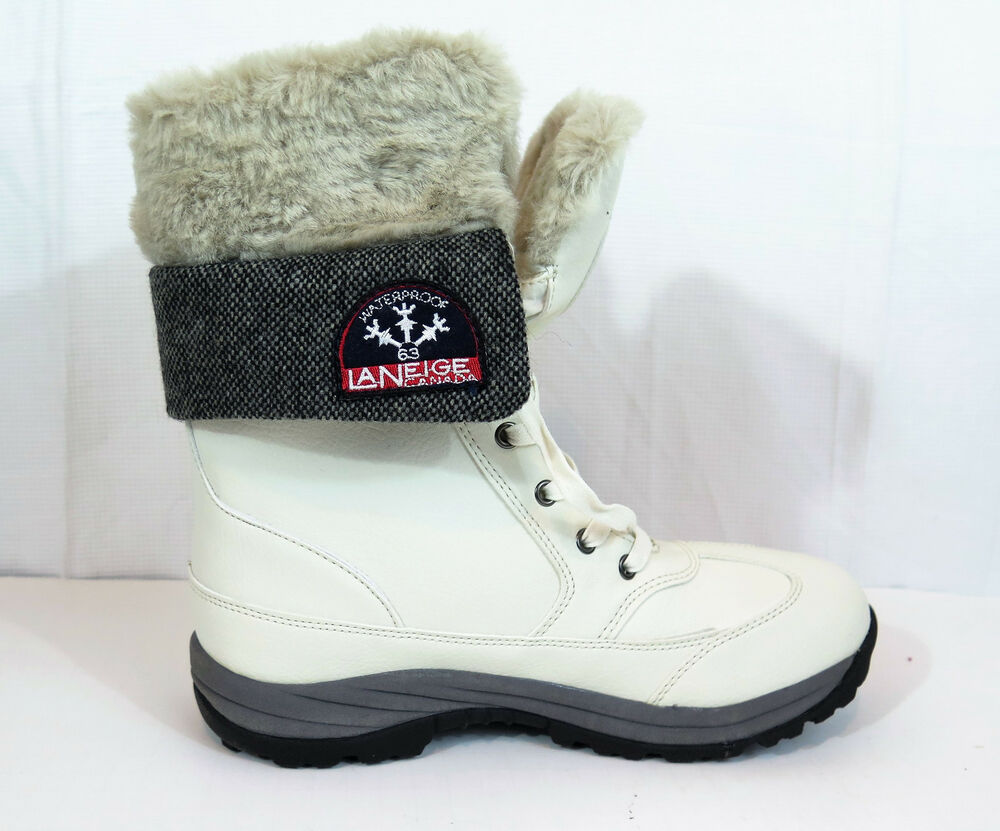 Laneige Canada By Pajar Waterproof Winter Boots Womens Sz
