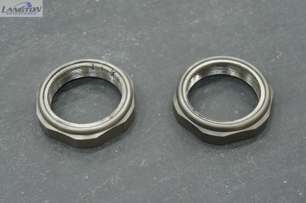 Ford Dana 50 Spindle Nuts : Dana spicer rear axle spindle nut pair for dodge