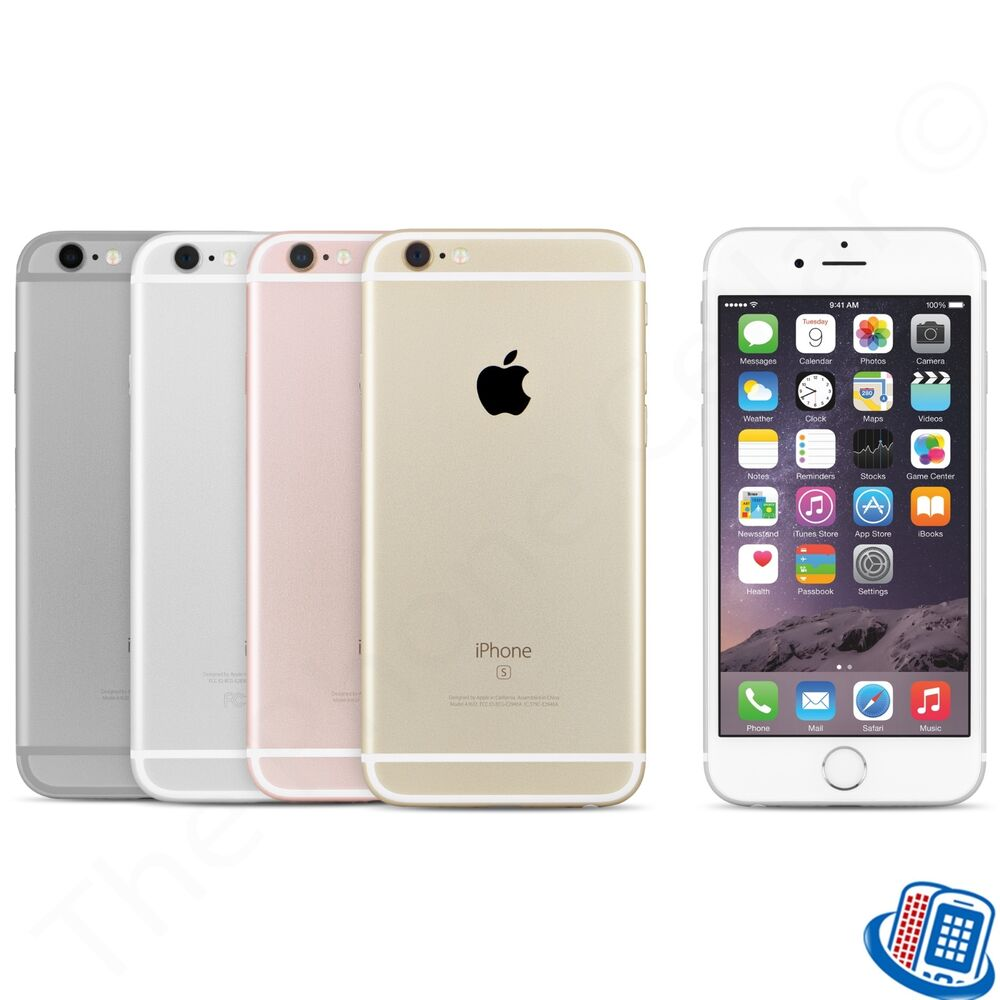 at t apple iphone 6s a1633 16gb 64gb 128gb silver space. Black Bedroom Furniture Sets. Home Design Ideas
