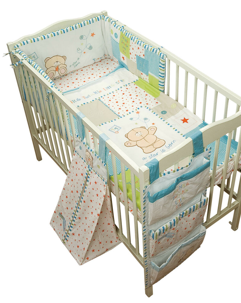Forever Friends Nursery Little Star Boys Nursery Bedding