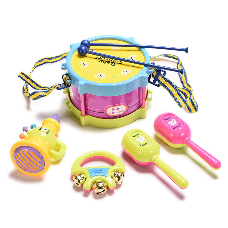 Best Musical Toys For Toddlers : Best baby roll drum musical toy instruments band for kids