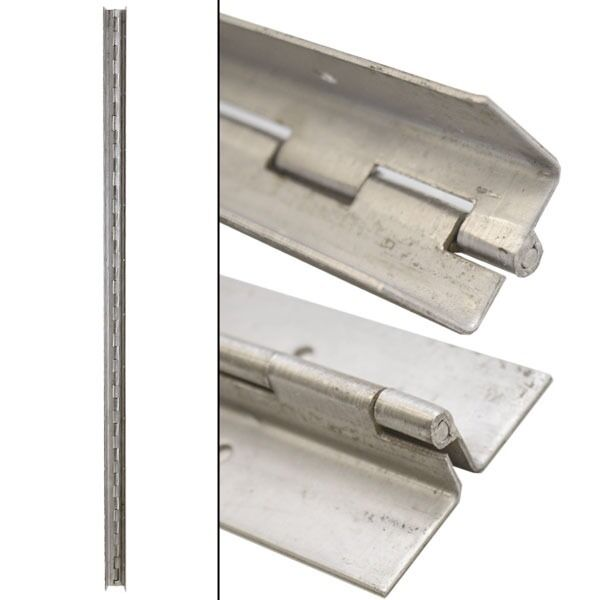 Custom 44 X 2 Inch 16 Gauge Stainless Boat Piano Hinge