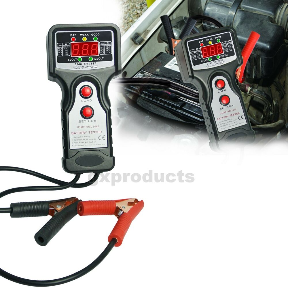 Car Voltage Regulator Testers : Automotive vehicular battery load tester equipment voltage