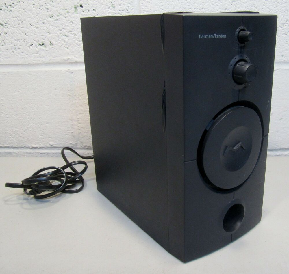 harman kardon hk395 subwoofer unit only ebay. Black Bedroom Furniture Sets. Home Design Ideas