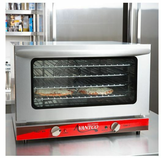 Commercial Countertop Half Sheet Size Convection Oven, 1.5 Cu. Ft ...