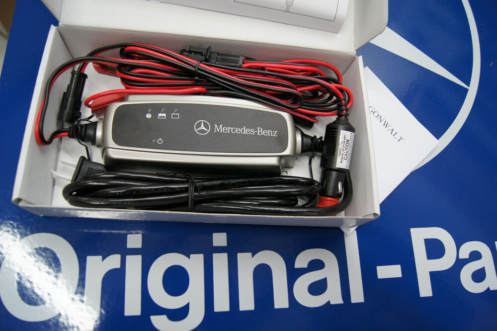 Mercedes benz battery trickle charger genuine oem for Mercedes benz car battery