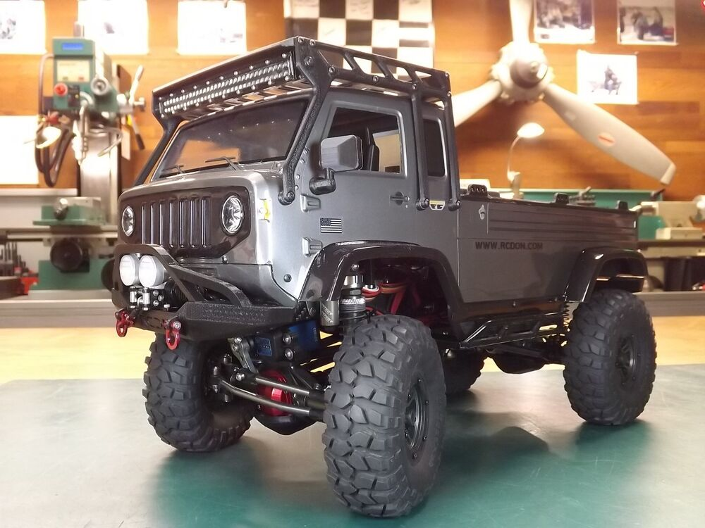 Rcdm Roll Cage Roof Rack For The Axial Jeep 034 Mighty 034