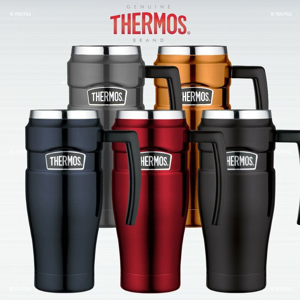 thermos travel mug thermos stainless king travel mug leak proof vacuum 13168