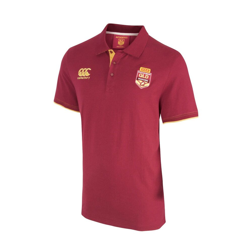 QLD Maroons State Of Origin 2017 CCC Classic Polo Shirt ...