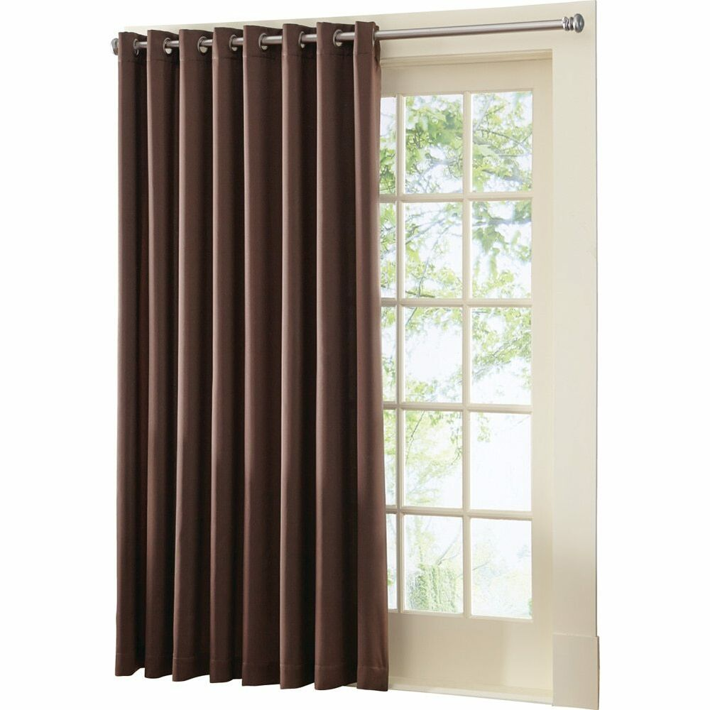 Gramercy Patio Door Grommet Top Curtain Panel By