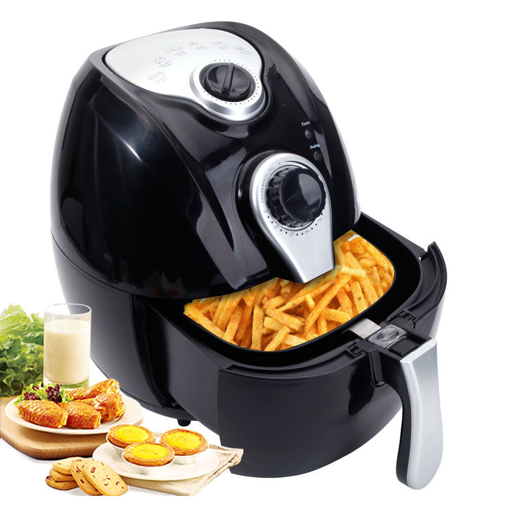 1500w Electric Air Fryer Multifunction Programmable Timer
