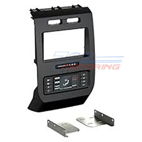 2015 up ford f 150 dash kit with intergrated hvac swc control touch screen ebay. Black Bedroom Furniture Sets. Home Design Ideas