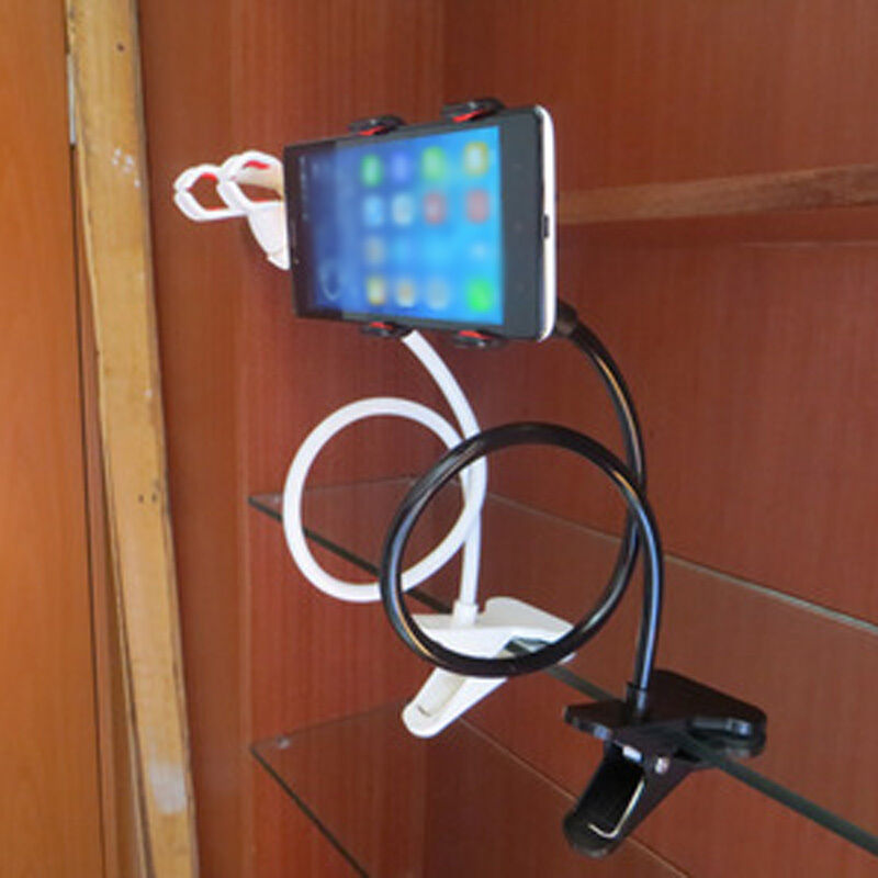 Flexible bed desk lazy bracket mobile phone stand holder for Cell phone bed