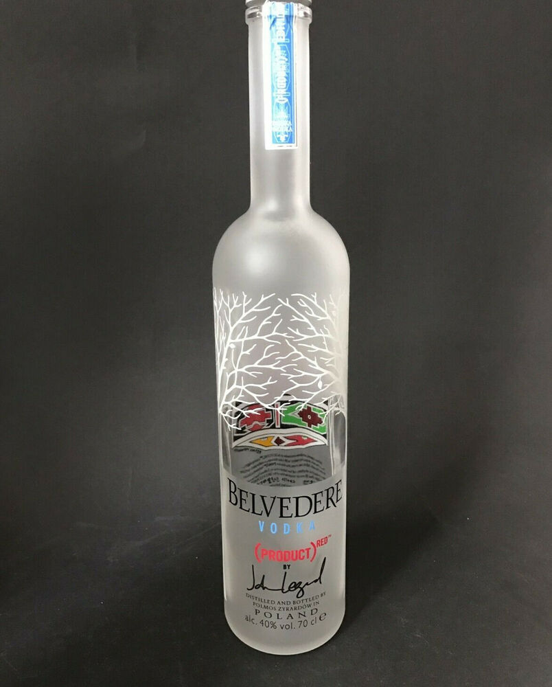 belvedere vodka red hero edition 0 7 liter flasche leer deko ebay. Black Bedroom Furniture Sets. Home Design Ideas