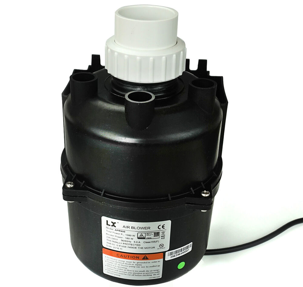 Blower Air Pump : Lx apr z spa air blower w amps with heater