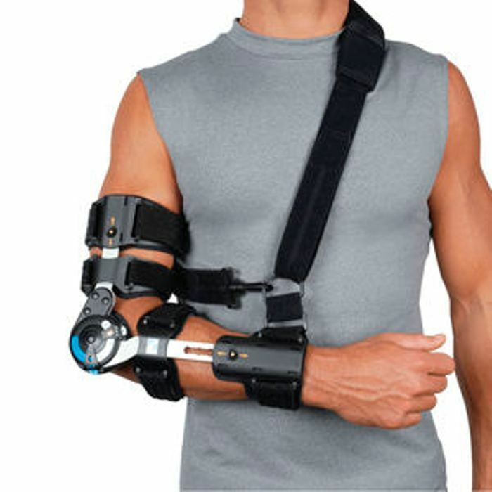 Comfort Professional Hinged Rom Post Op Elbow Brace With
