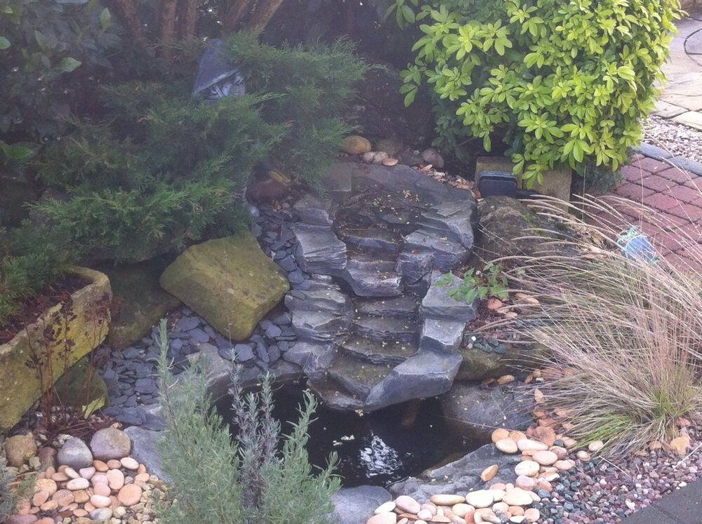 Garden Pond Water Features Fgs1 Fgs2 And Small Slate