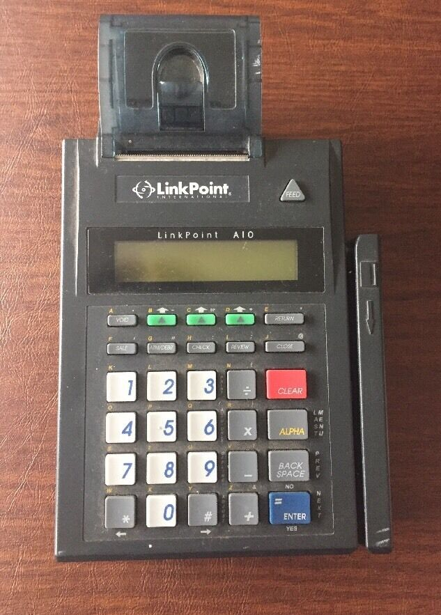 linkpoint credit card machine
