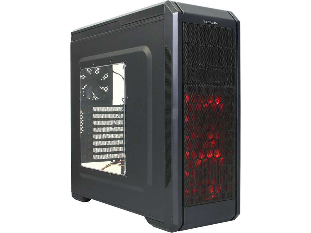 Rosewill Stealth - ATX Mid Tower Gaming Computer Case ...
