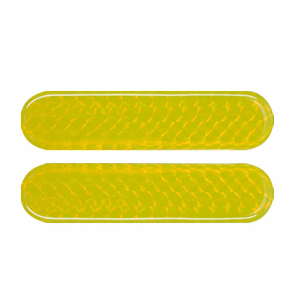 Details about for car auto safety light reflectors yellow stickers