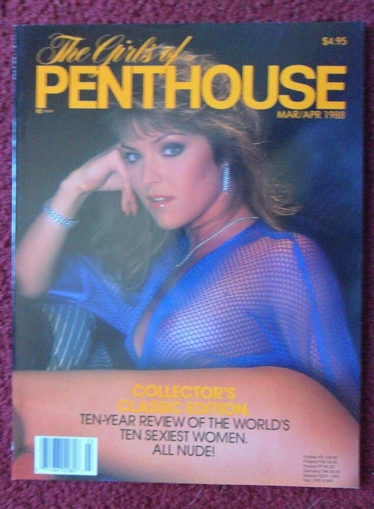 The Girls Of Penthouse No. 10 Collectors Edition 1984