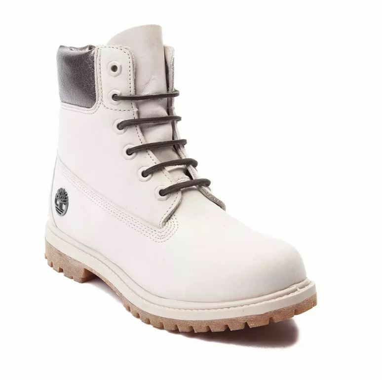 Awesome 2016 Womenu0026#39;s Timberland 6-Inch Premium White Head Boots-Pink