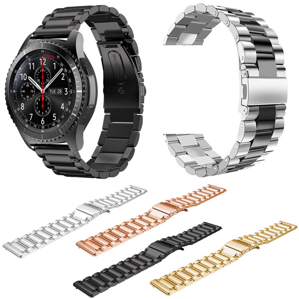 metal stainless steel watch band for samsung galaxy gear. Black Bedroom Furniture Sets. Home Design Ideas