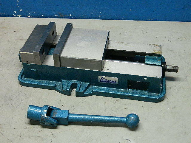 Gibraltar Milling Machine Vise 6 Quot Jaw Width 7 1 2 Quot Opening