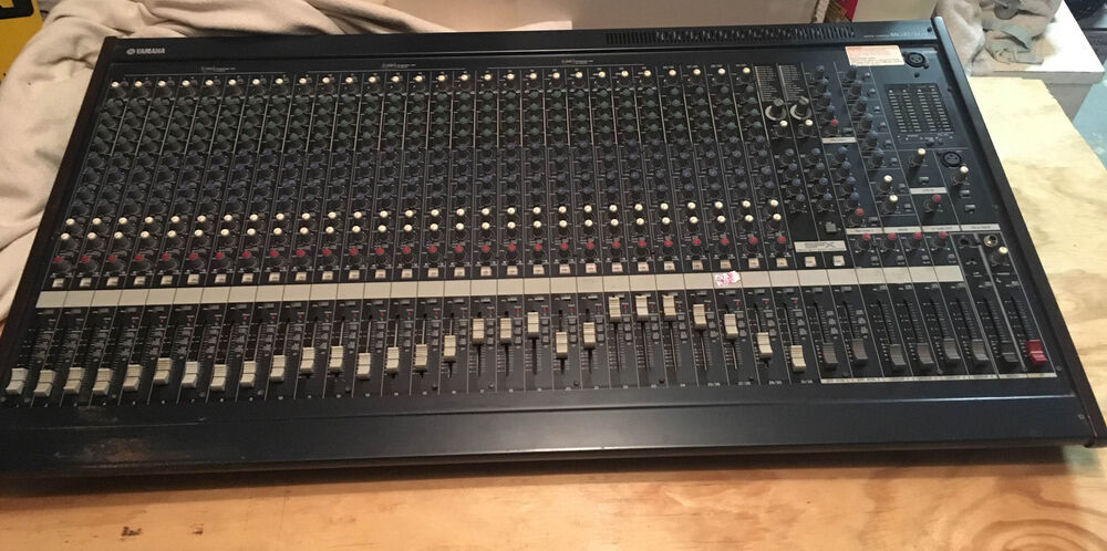 Yamaha mg32 14fx studio 32 channel mixer mixing console 14 for Yamaha mixing boards