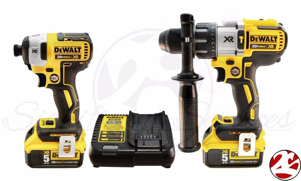 New dewalt 20v max brushless xr 5 0ah li ion impact drill for Dewalt 20v brushless motor