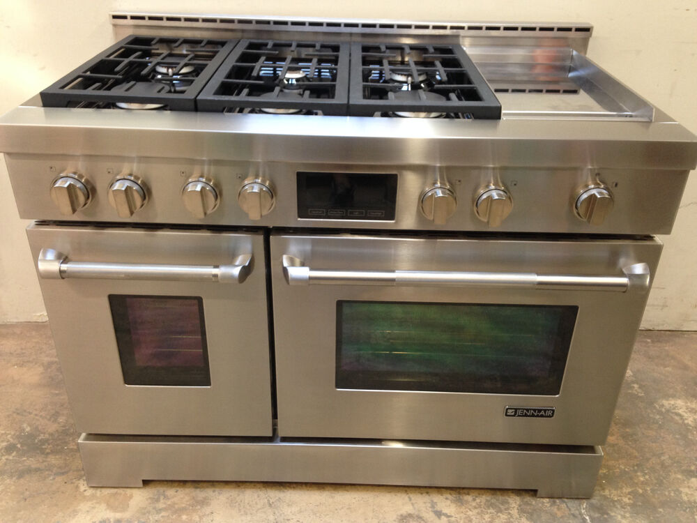 Jenn Air Jgrp548wp 48 Professional Gas Range Stove 6