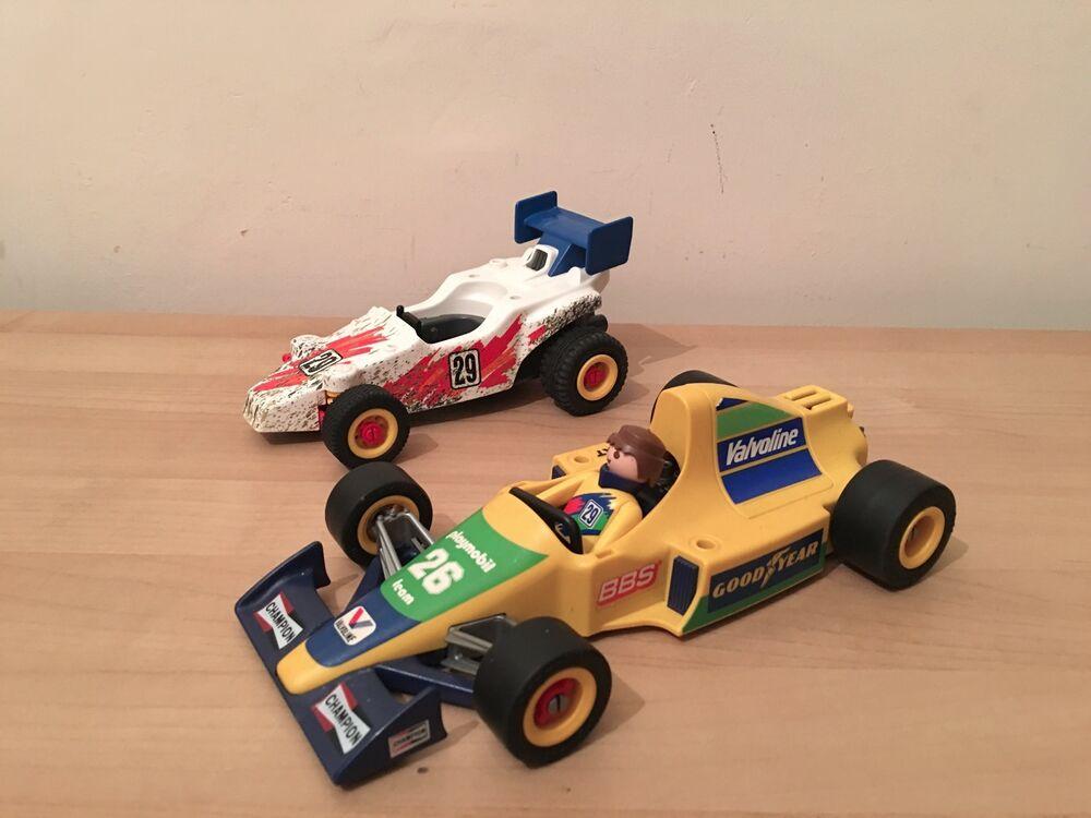 All Cars 1 Race Car Toys : Playmobil formula racing cars toy people figure ebay